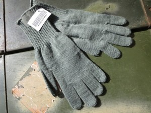 U.S.Cold Weather Gloves 100%Wool sizeM new