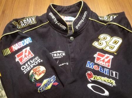 """U.S.ARMY NASCAR Jacket """"Ryan Newman"""" sizeL used"""