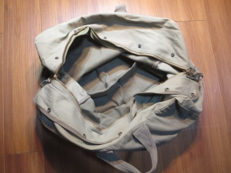 U.S.AIR FORCE Kit Bag Flyer's Cotton 1980年? used