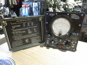 U.S.AIR FORCE Multimeter 1976年? used?