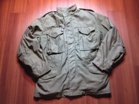 U.S. M-65 Field Jacket 1981年 sizeSmall-Short used
