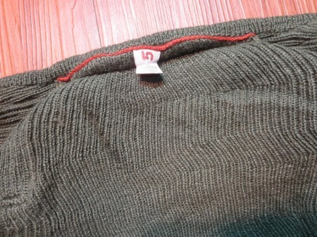 Sweden Sweater Full Zip Wool? sizeL? used