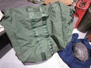 U.S.AIR FORCE Kit Bag Flyer's Nylon 2006年 used