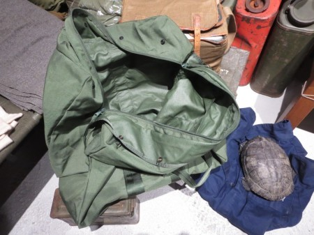 U.S.AIR FORCE Kit Bag Flyer's Nylon 2006年 used