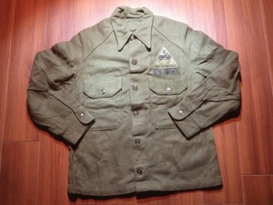U.S.ARMY Field Shirt Wool/Nylon 1950年代 sizeM used