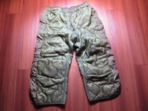 U.S.Liner for M-65 Field Trousers sizeS used