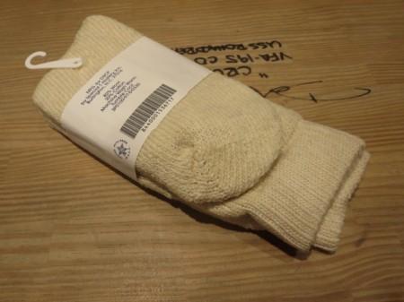 U.S.Socks Winter Wool/Cotton size24cm? new