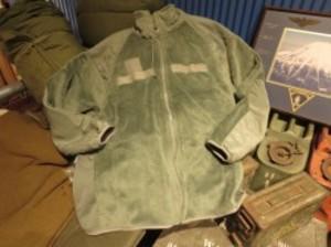 """U.S.ARMY Fleece Jacket """"POLARTEC"""" sizeM used"""