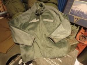 """U.S.ARMY Fleece Jacket """"POLARTEC"""" sizeL used"""