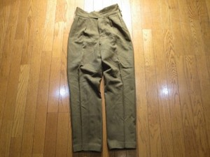 U.K.Field Trousers 1966年 size29 used