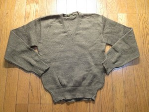 France Sweater 1960年代? sizeM? used?