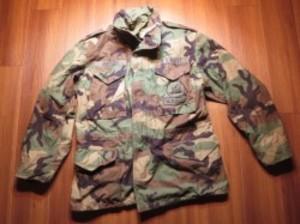 "U.S.NAVY M-65 Field Jacket ""SEABEES"" 1991年 sizeM-R"