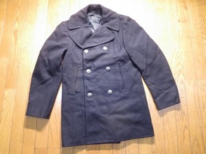 U.S.NAVY Pea Coat 100%Wool 1978年 size36L used