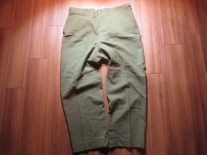 U.S.Field Trousers 100%Wool 1951年 sizeL-Regular