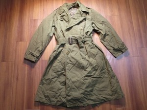 U.S.ARMY Overcoat with Liner 1944年 size37R used