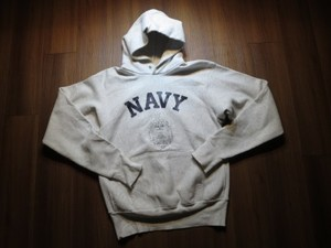 "U.S.NAVY Hooded Parka""NAVAL ACADEMY""sizeM used"