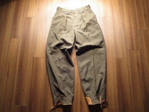 France Field Trousers 1950年代頃? size82cm位 used