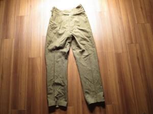 U.K. Field Trousers 1966年 size29? used