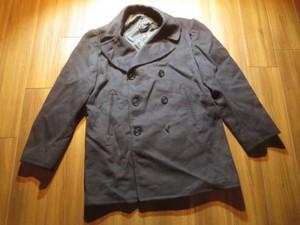 U.S.NAVY Pea Coat 100%Wool 1950年代? size44 used