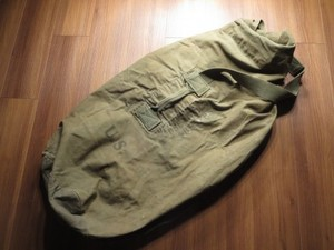 U.S. Duffel Bag Cotton 1944年 used