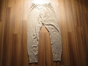 U.S.Drawers Cold Weather 1991年 sizeM used