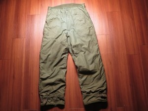 U.S.NAVY Trousers ColdWeather 1978年 sizeM used