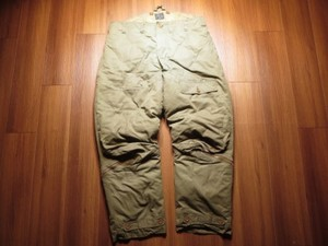 U.S.ARMY AIR FORCE A-8 Trousers 1940年代 size36 used