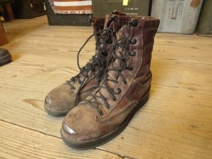 U.S.MARINE CORPS Leather Boots Flying? size4R used