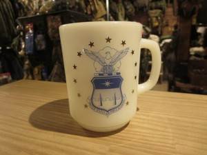 "U.S.AIR FORCE ACADEMY Mug ""Anchor Hocking"" used"