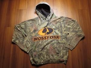 "U.S.Hooded Parka ""MOSSY OAK"" sizeM used"