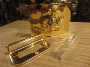 U.S.MARINE CORPS Buckle Brass? new?