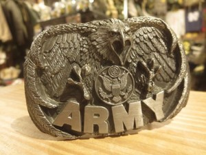 """U.S.ARMY Buckle """"Made in USA"""" used"""