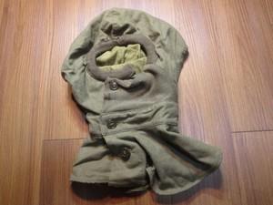 U.S.ARMY Hoods,Wool,O.D.Special 1944年 sizeM used