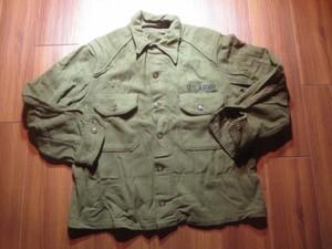 U.S.ARMY Field Shirt Wool/Nylon 1950~60年代 sizeM?