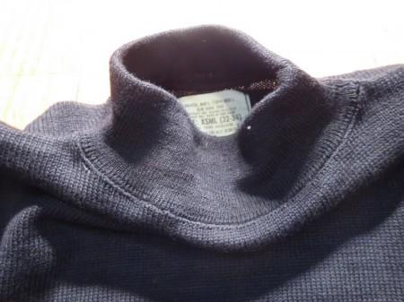 U.S.NAVY Sweater 100%Wool 1979年 sizeXS new