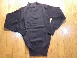 U.S.NAVY Sweater 100%Wool 1978年 sizeS new