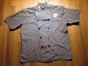 "U.S.NAVY Umiform CookShirt? ""CTF 70"" sizeL? used"