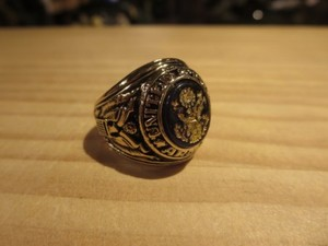 U.S.ARMY Ring size? used