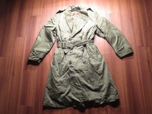 U.S.ARMY Overcoat with Liner 1953年 sizeM-S used