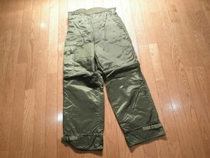 U.S.NAVY Trousers ExtremeColdWeather 1979年 sizeS