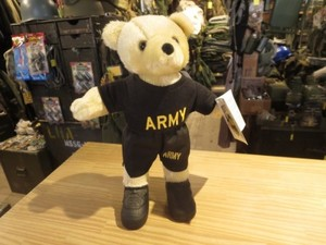 U.S.ARMY Stuffed Toy Bear new