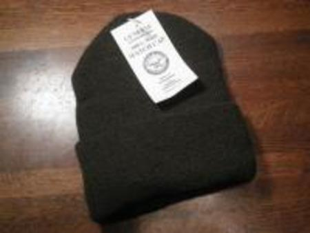 U.S.Watch Cap 100% Wool new Olive