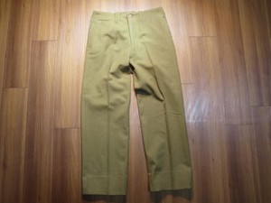 U.S.ARMY Trousers Service OD Wool 1942年 size34