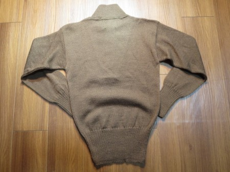 U.S.ARMY Sweater 100%Wool OD 1989年 sizeS new