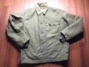 U.S.NAVY Deck Jacket 1980年代? sizeL used