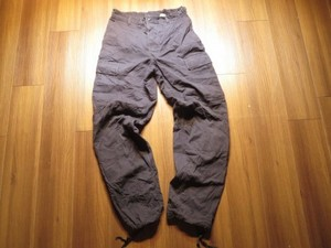U.S.Trousers Black357 1997年 sizeS-Regular used