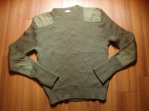 U.S.Sweater 100%Wool 1986年 size40 used