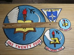 "U.S.NAVY Patch Set ""VF-124 GUNFIGHTERS"" 1960年代 new"