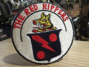 "U.S.NAVY Patch ""VFA-11 Red Rippers"" 1970年頃 new"