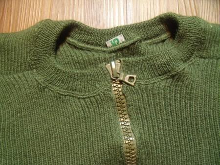 Sweden Sweater Full Zip Wool? sizeL? used